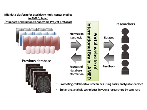 Integrative MRI data platform across the lifespan and disorders toward international brain science collaborations